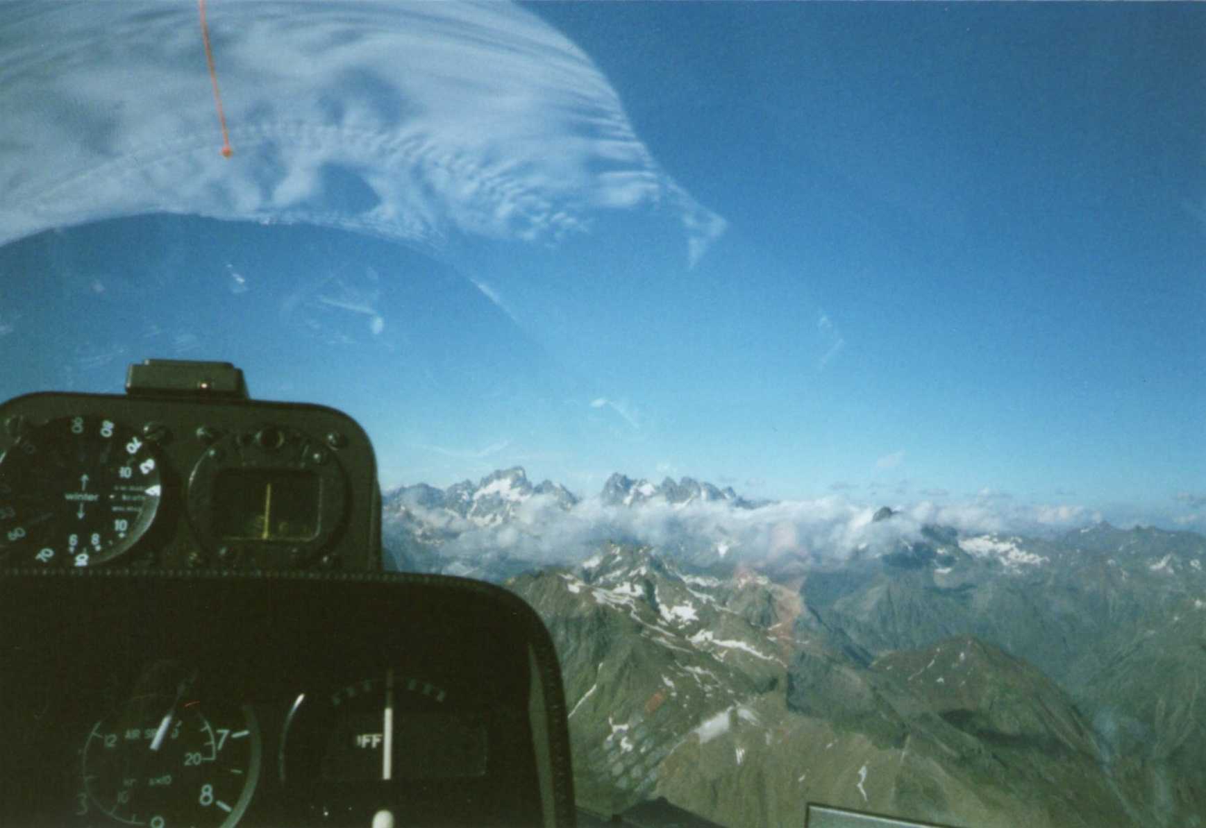 Flying in the Alps / stuart chalmers
