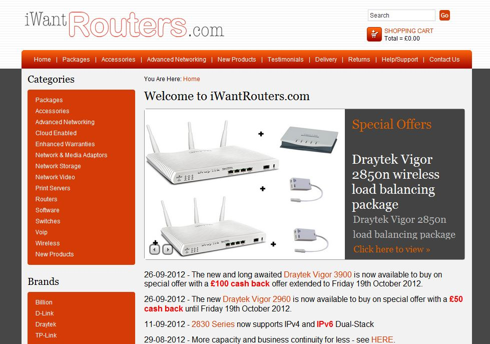 www.iwantrouters.com connection
