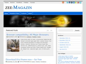 ZeeMagazin WordPress Theme
