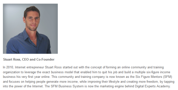 Stuart Ross team member (get started)
